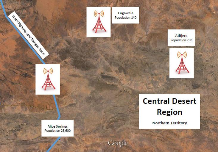 Wireless google maps image