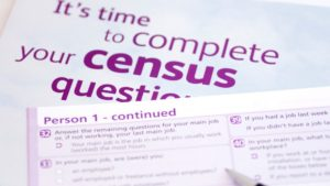 Photo of Census Form