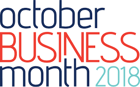 October Business Month 2018 Logo
